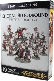 Games Workshop Warhammer Age of Sigmar - Blades of Khorne - Start Collecting! Khorne Bloodbound Goreblade Warband (99120201066)