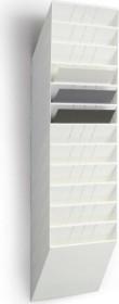 Durable Prospekthalter Flexiboxx 12, A4 Querformat, 12 Fächer, weiß (1709781010)