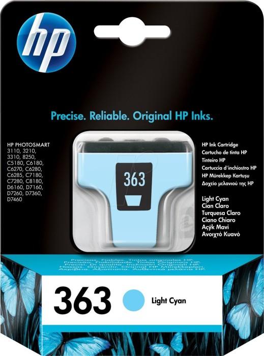 HP 363 Tinte cyan hell (C8774EE)