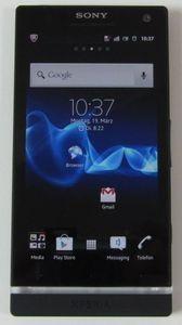 Sony Xperia S schwarz -- © tabtech.de