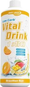 Best Body Nutrition Low Carb vital Drink Brazilian Sun 1l