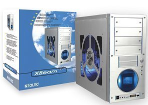 Neolec XBeam C400 aluminum-Midi-Tower with Water Cooling (various types)