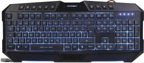 Crown Micro CMKG-402, black, USB, DE