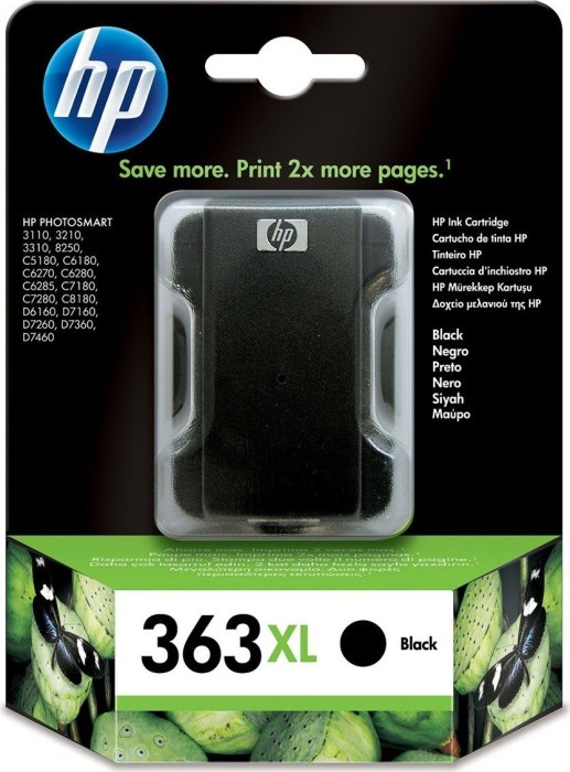 HP 363 XL Tinte schwarz (C8719EE)