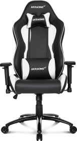 AKRacing Nitro Gamingstuhl, schwarz/weiß (AK-NITRO-WT)