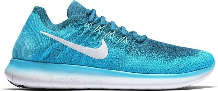 86ce57e4818d Nike Free RN Flyknit 2017 blue lagoon legend blue polarised blue pure  platinum