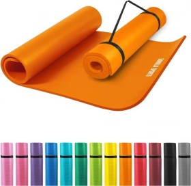 Gorilla Sports Yogamatte 190x60cm orange (100541-00036-133)