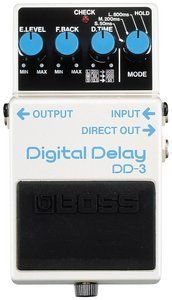 Boss DD-3 digital delay effects unit