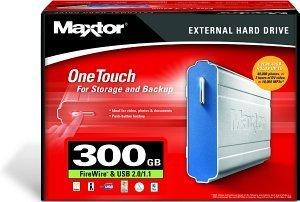 Maxtor OneTouch 300GB, USB 2.0/FireWire (B14D300)