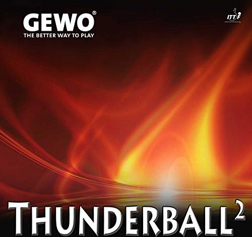 Gewo Thunderball 2 (Belag) -- via Amazon Partnerprogramm