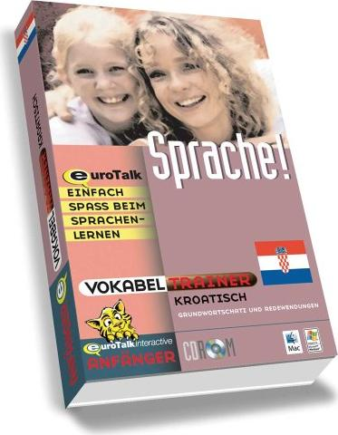 Euro Talk: Vocabulary Builder Croatian (englisch) (PC/MAC) -- via Amazon Partnerprogramm