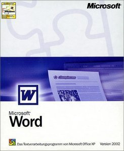 Microsoft: Word 2002 (German) (PC) (059-03074)