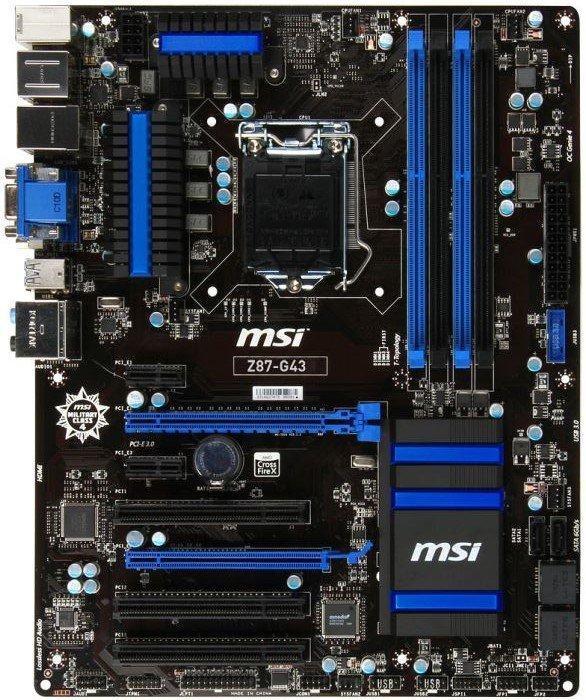 MSI Z87-G43 (7816-001R)