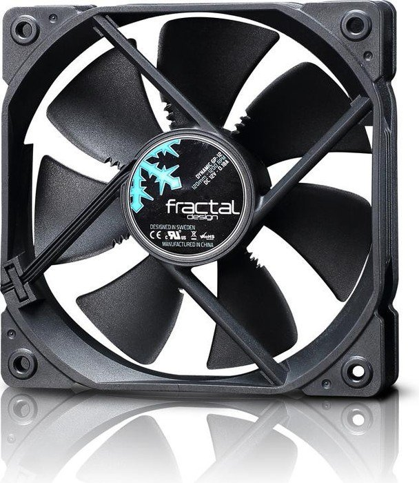 Fractal Design Dynamic GP-12 schwarz, 120mm (FD-FAN-DYN-GP12-BK & FD-FAN-GP-12 BL)