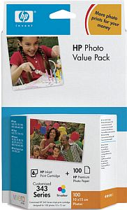HP 343 Photo value pack (Q7934EE)