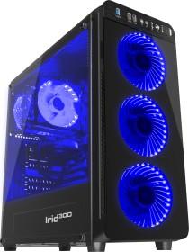 Genesis Irid 300 Blue, Glasfenster, Lüfter LED blau (NPC-1132)