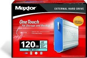Maxtor OneTouch 120GB, USB 2.0 (A14B120)