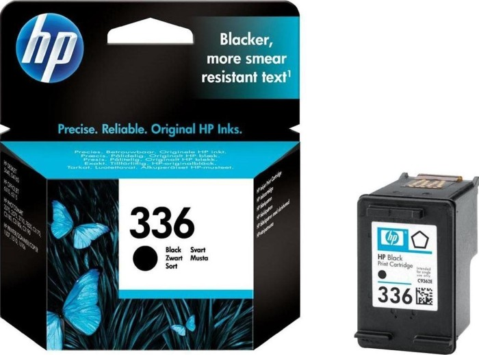 HP 336 Druckkopf mit Tinte schwarz 5ml (C9362EE)
