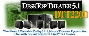 Creative desktop theatre 5.1 DTT2200
