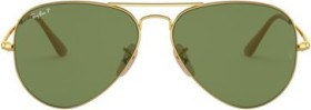 Ray-Ban RB3689 58mm gold/green classic (RB3689-9064O9)