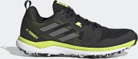 adidas Terrex Agravic core black/grey four/solar yellow (Herren) (FW5129)