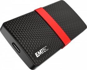 Emtec Power Plus X200 256GB SSD, USB-C 3.0 (ECSSD256GX200)