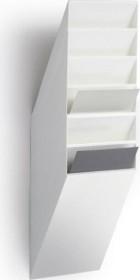 Durable Prospekthalter Flexiboxx 6, A4 Hochformat, 6 Fächer, weiß (1709760010)