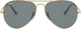 Ray-Ban RB3689 55mm gold/blue classic (RB3689-9064S2)