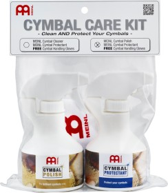 Meinl Cymbal Care Kit incl. Cymbal Polish (MCCK-MCP)