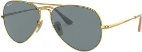 Ray-Ban RB3689 58mm gold/blue classic (RB3689-9064S2)