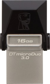 Kingston DataTraveler microDuo 16GB, USB-A 3.0/USB 2.0 Micro-B (DTDUO3/16GB)