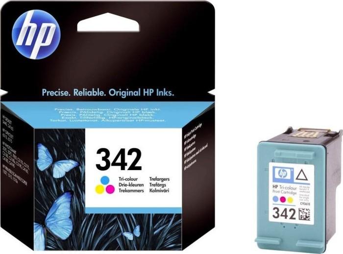 HP 342 Druckkopf mit Tinte farbig (C9361EE)