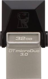 Kingston DataTraveler microDuo 32GB, USB-A 3.0/USB 2.0 Micro-B (DTDUO3/32GB)