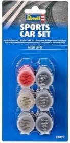 Revell Aqua Color Sports Car colour set, 6x (39074)