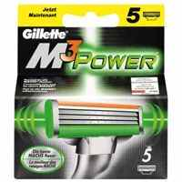 Gillette M3 Power replacement blades 5-pack