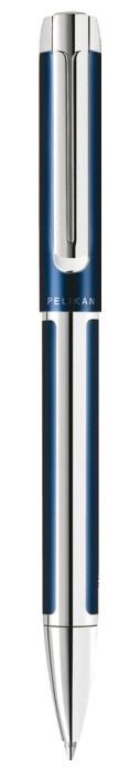 Pelikan Pura K40 blau-silber, Kugelschreiber (954925) -- via Amazon Partnerprogramm