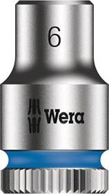 """Wera 8790 HMA Zyklop Außensechskant Stecknuss 1/4"""" 6x23mm (05003505001)"""