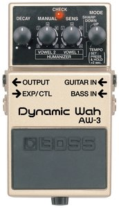 Boss AW-3 Dynamic Wah effects unit