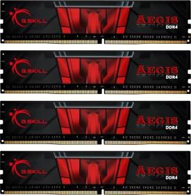 G.Skill Aegis DIMM Kit 64GB, DDR4-2400, CL15-15-15-35 (F4-2400C15Q-64GIS)