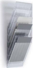 Durable Prospekthalter Flexiboxx 6, A4 Hochformat, 6 Fächer, transparent (1709760400)