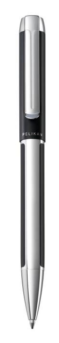 Pelikan Pura K40 schwarz-silber, Kugelschreiber (995423) -- via Amazon Partnerprogramm