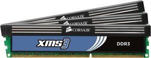 Corsair XMS3 DIMM kit 6GB PC3-10667U CL9-9-9-24 (DDR3-1333) (CMX6GX3M3A1333C9)