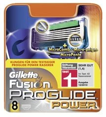 Gillette fusion Proglide Power replacement blades 8-pack