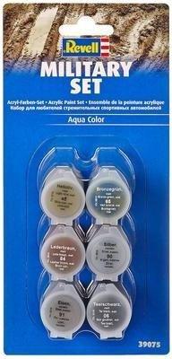Revell Aqua Color Farben-Set Militär (39075)