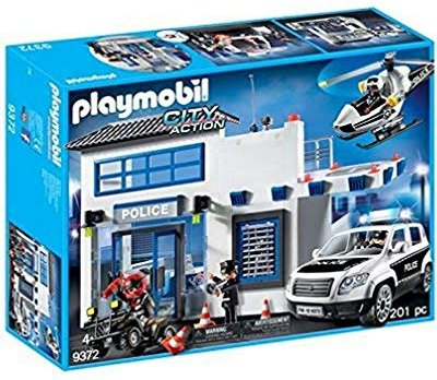 playmobil City Action - Polizeistation (9372) -- via Amazon Partnerprogramm