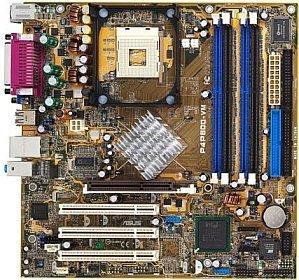 ASUS P4P800-VM (dual PC-3200 DDR) (90-M8LAR0-G0EAY)