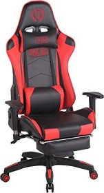 CLP Turbo with synthetic leather cover gaming chair, black/red (191669563)