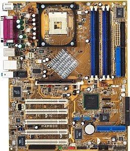 ASUS P4P800 Deluxe, i865PE (dual PC-3200 DDR)