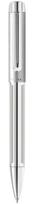 Pelikan Pura K40 silber, Kugelschreiber (951996) -- via Amazon Partnerprogramm