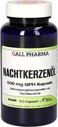 Nachtkerzenöl 500mg GPH Kapseln, 120 Stück